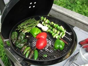 Grilování zeleniny